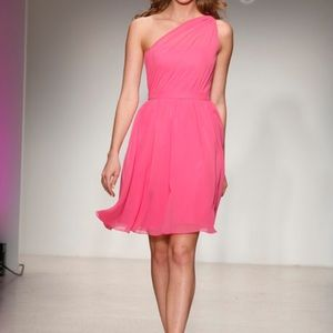 Alfred Angelo bridesmaid Prom One Shoulder Dress